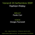 Fashion Friday al Lido